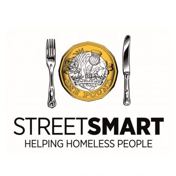 Street smart logo with text