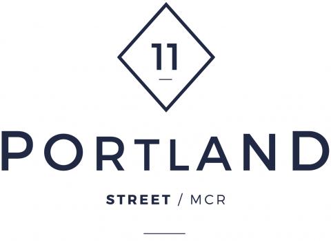 11 Portland Street Logo Dark Blue 1 1